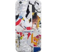 Torn posters iPhone Case/Skin