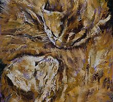 Sleeping Kittens by Michael Creese