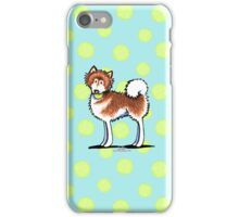 Alaskan Malamute Playful Redhead iPhone Case/Skin