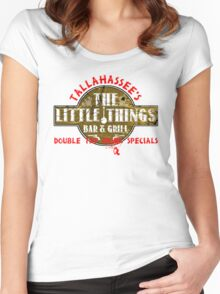 The Little Things Women's Fitted Scoop T-Shirt