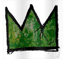 """Basquiat """"King of Huntsville Alabama"""" Poster"""