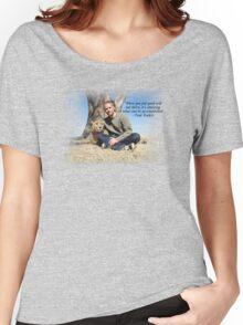 Paul Walker Inspiring Quotes Women's Relaxed Fit T-Shirt