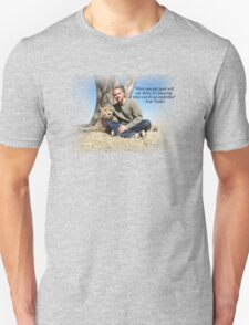 Paul Walker Inspiring Quotes Unisex T-Shirt