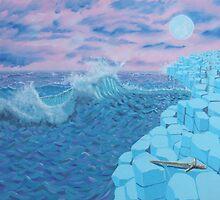 Giants Causeway seascape by Michael McEvoy