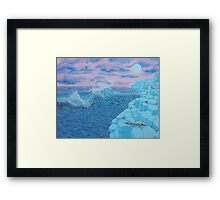 Giants Causeway seascape Framed Print