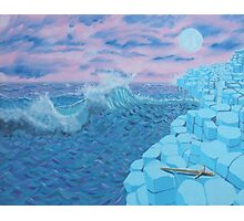 Giants Causeway seascape Photographic Print