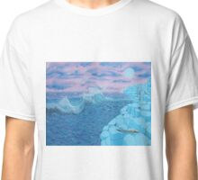 Giants Causeway seascape Classic T-Shirt