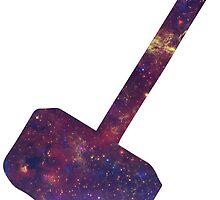 Galaxy Mjolnir by flyingsolox16