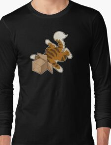 "Cat - ""Cat Box"" Long Sleeve T-Shirt"