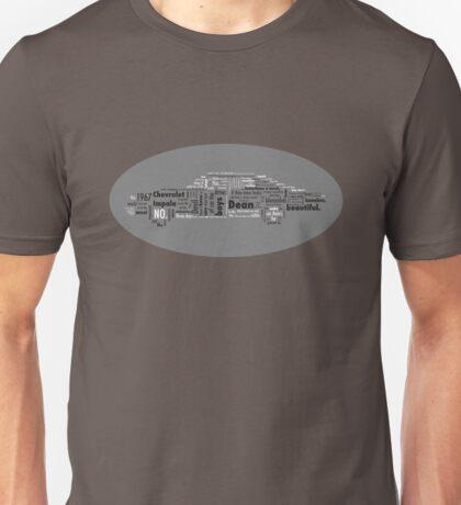 Typographic Impala. T-Shirt