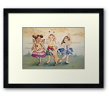Dance-off Framed Print