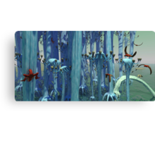 An Alien Forest Canvas Print