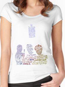 Nine, Ten, Eleven Women's Fitted Scoop T-Shirt