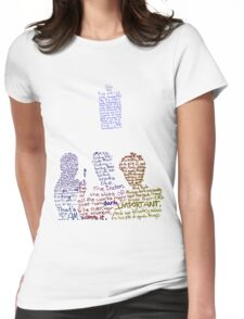 Nine, Ten, Eleven Womens Fitted T-Shirt