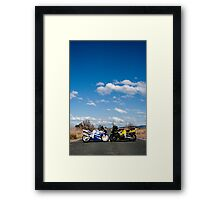 Middle of the Road Framed Print