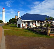 Split Point Lighthouse. Aireys Inlet, Victoria, Australia. - 1891 (2) by Ralph de Zilva
