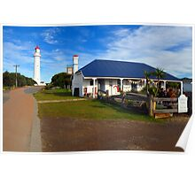 Split Point Lighthouse. Aireys Inlet, Victoria, Australia. - 1891 (2) Poster