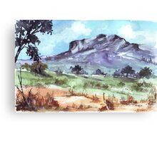 Dusk in Magaliesburg Canvas Print