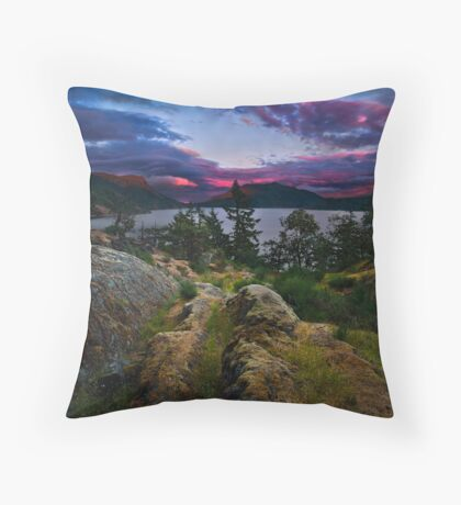 The Glowing Cloud Throw Pillow
