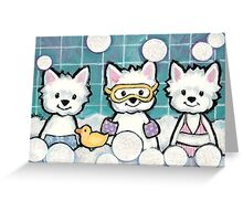 Bubbles and Bubbles Greeting Card
