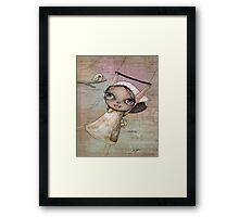 free as a bird Framed Print