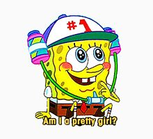 """Am I A Pretty Girl?"" SpongeBob Squarepants Unisex T-Shirt"