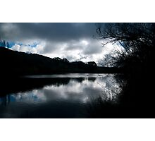 Inky Reflections  Photographic Print