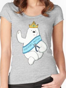 Honorable Ice Bear Women's Fitted Scoop T-Shirt