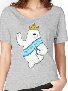 Honorable Ice Bear Women's Relaxed Fit T-Shirt