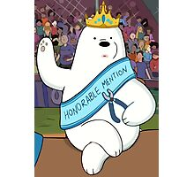 Honorable Ice Bear Photographic Print