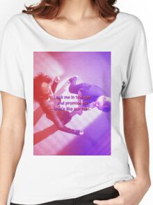 Mer and Cristina - Dancing it out Women's Relaxed Fit T-Shirt