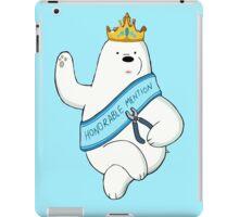 Honorable Ice Bear iPad Case/Skin