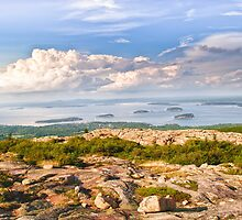 Acadia from Cadillac Mountain by JHRphotoART