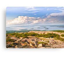 Acadia from Cadillac Mountain Canvas Print