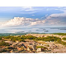 Acadia from Cadillac Mountain Photographic Print