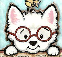 Reading Glasses by Shelly  Mundel
