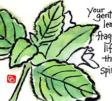 Lemon Balm (the Herb Series) by dosankodebbie