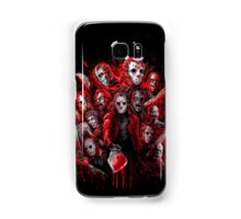 Jason Voorhees (Many faces of) Samsung Galaxy Case/Skin