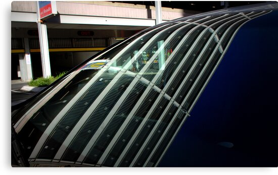 Rundle Street Carpark (2) by Ben Loveday