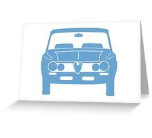 Alfa Romeo Giulia Super Greeting Card