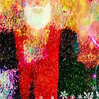 Abstract Santa Claus by Scott Mitchell