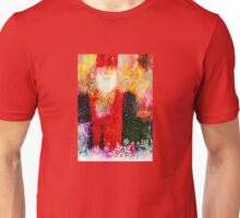 Abstract Santa Claus Unisex T-Shirt