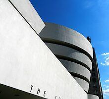 Guggenheim Museum #2 by Ellen  Hagan