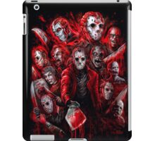 Jason Voorhees (Many faces of) iPad Case/Skin