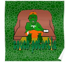 Couch PoTurtle (shell pattern) Poster