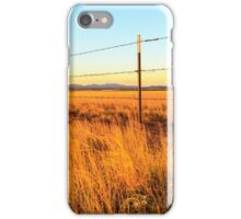 Barbed Wire Fence iPhone Case/Skin