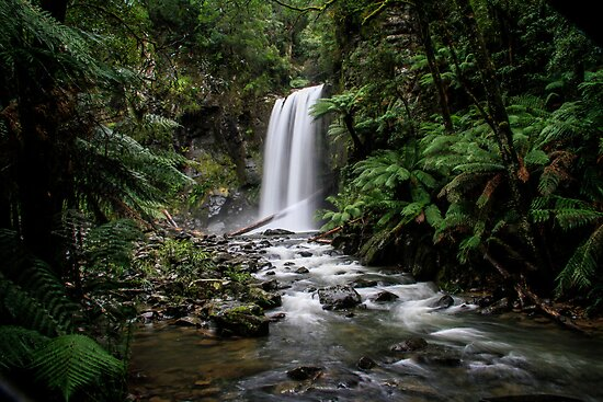 Hopetoun Falls by Bevlea Ross