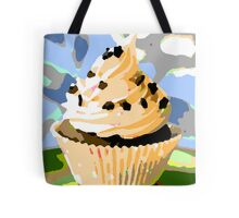 Chocolate Cupcakes with Vanilla Frosting Tote Bag