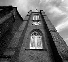Towards the heavens, St John's Anglican Church, Camden, NSW by Ian Ramsay