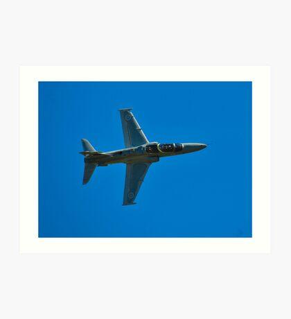BAe 127 Hawk, A27-19, 76 Squadron, RAAF Williamtown Art Print
